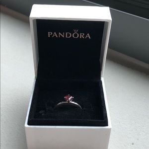 "Brand New ""You & Me"" Pandora Ring, Promise Ring"